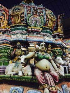 храм Шивы, ставшего матерью